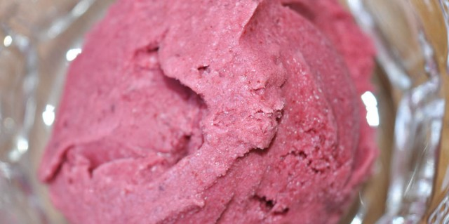 Mixed Summer Berry Ice Cream