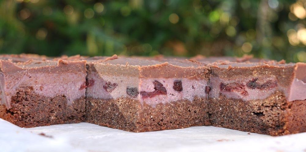 'Cherry Garcia' Chocolate Brownies