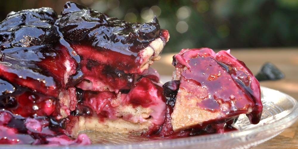 Cherry Cheesecake Pancakes