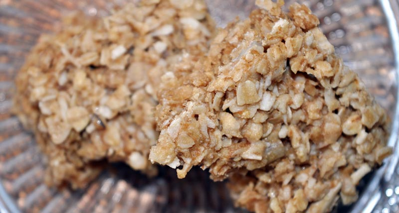 Coconut and Sunflower Seed Flapjacks 0006