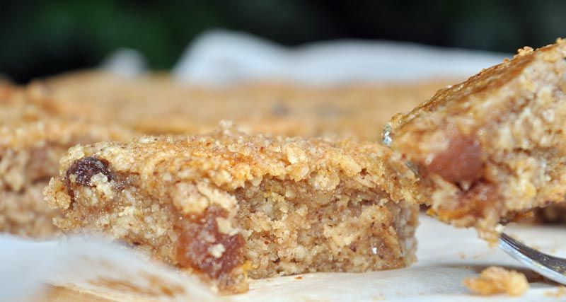 Easy Apricot and Almond Flapjacks