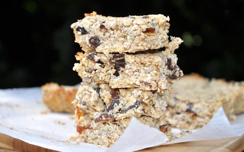 fruit nut and seed flapjacks