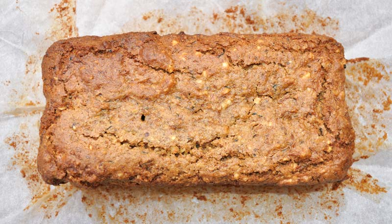 Hazelnut and Zucchini Loaf 0001