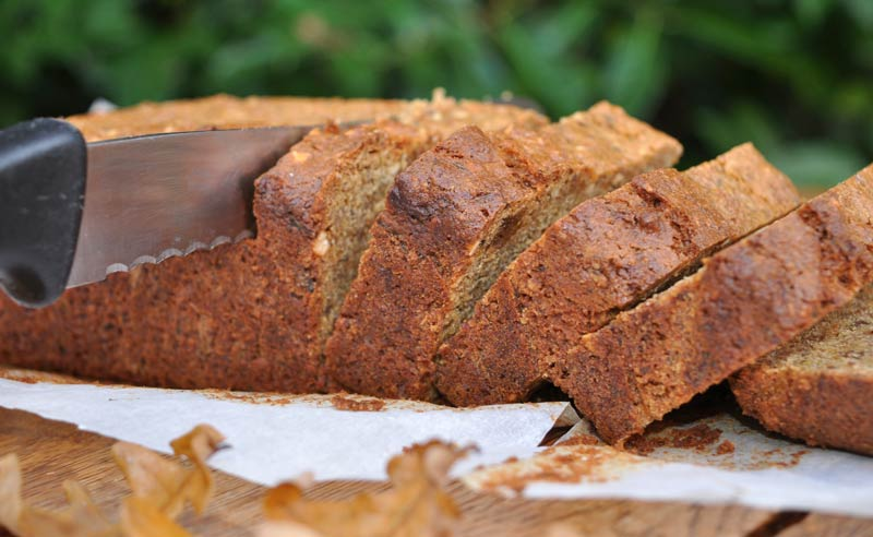 Hazelnut and Zucchini Loaf 0004