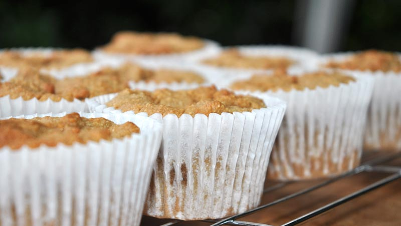 Light Ginger Cupcakes
