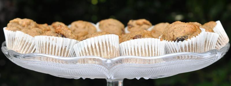 Mini Banana and Raisin Muffins 0003