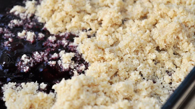 Black Forest Fruits Crumble 0003