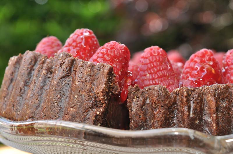 Chocolate Raspberry Torte 0005