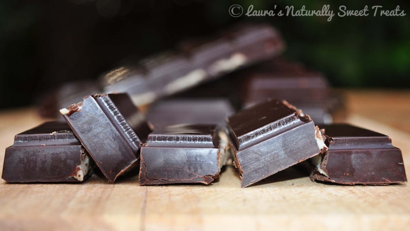 Peppermint Cream Chocolate Bars